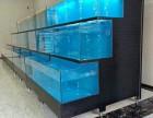 广州大型鱼缸定做-海鲜池设计制作