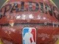 全新的斯伯丁篮球,型号64-288,手感很好