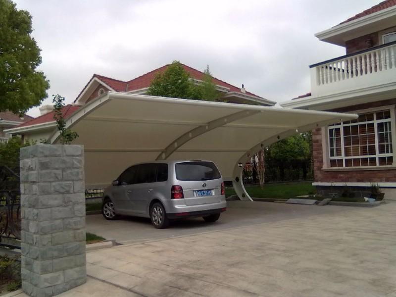 镇江棚发膜结构停车棚膜结构景观棚安装批发价格