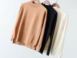 6321-84F 棉混纺 半高领长袖女式