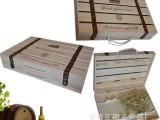 现货酒盒红酒盒 松木单排红酒木质酒盒子 葡萄酒木盒包装盒 高档