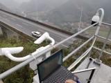 公路交通环境监测气象站雾霾天气能见度监测设备