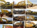 小松二手挖掘机大量现货出售130和200和240-360包邮