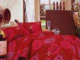 厂家直销 加厚保暖 不褪色活性印染天鹅绒四件套 床上用品四件套