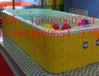 武汉3米宽大型亚克力拼接水育早教游泳池成功金色太阳厂家生产