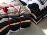 全新棉制花色杂色40布擦机布工业抹布吸水吸油保洁无尘不掉色