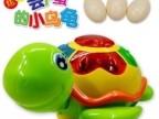 儿童益智玩具电动万向轮爬行带音乐会下蛋的乌龟玩具下蛋