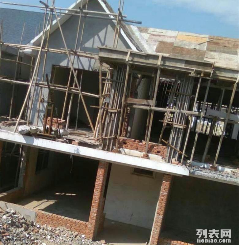 翻新改建房屋砌墙粉刷现浇老宅平顶筑别墅院墙设计施工