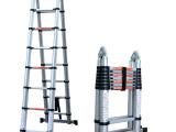 帮尔高高档伸缩梯子竹节升降便携关节两用直梯5米人字梯2.5米加厚