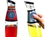 醋油瓶可计量油壶按压式油瓶控油壶定量油瓶礼品彩盒包装