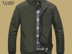 2014新款夹克 男装立领春季外套男 休闲修身青年薄夹克衫0110