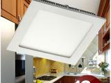 LED厨卫灯灯 led方形超薄面板灯 嵌入式集成吊顶平板灯 办公