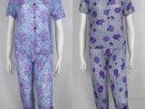 W热卖特价 新款中老年夏装 女装冰丝妈妈中老年服装 中老年套装