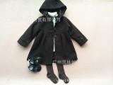 2014新款外贸原单 欧美大牌 儿童 女童 娃娃款呢子大衣