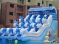 天蕊游乐供应水上乐园水滑梯各种款式规格水上漂浮物支架水池福州
