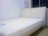 1.5米木质床加床垫