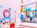 七夕情人节气球布置,百天宴气球布置,生日气球布置,地爆球