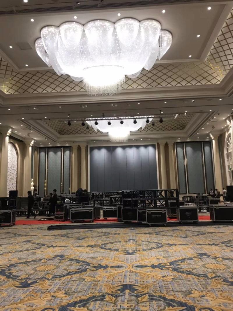 酒店宴会厅舞台专业音响租赁