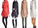 播 星际争宠 2013冬季新品韩版修身女装中长款连帽白鸭绒羽绒服