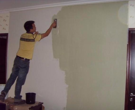 专业刮腻子粉刷 店面酒店新旧房等装修 上乳胶漆 专业喷油漆等