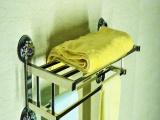 304不锈钢浴巾架 吸盘优质毛巾架 卫浴