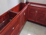 承接厦门铝合金厨柜 石英石台面 不绣钢橱柜 地柜吊柜定制
