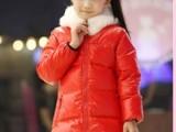 冬季新品女童装加厚大童长款羽绒服冬2012新款长款女童休闲羽绒服