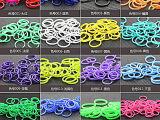 DIY彩虹橡皮筋圈韩国儿童玩具套装韩国织机编织手链