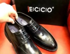 广州品牌男鞋贴牌加工厂专业生产高端男式休闲皮鞋商务正装皮鞋子