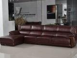 美式家具真皮沙发