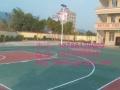 巴马硅PU塑胶球场PVC羽毛球地胶