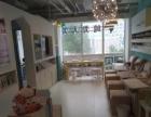 国贸 建外东区 2楼 展示面特别好 美容院 定衣服