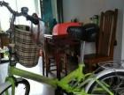 折叠自行车全新带新锁一把。
