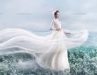 夏日里灵动的仙气,有着不期而遇的美丽 西安封面贵族婚纱摄影