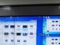 监控系统液晶拼接大屏工程安装