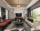 重庆洋房装修设计 龙湖开元 新中式风格全案设计