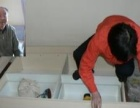 温州新城大自然 玻璃门维修 更换地弹簧 移门维修