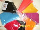 无纺布   2mm 彩色化纤涤纶毛毡无纺布  高密度耐磨彩色无纺