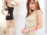 无缝美体内衣 超紧平纹的塑身瘦身美体包胸背心 042-C