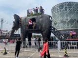 新款巨型机械大象出租 会动机械大象展览