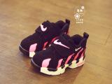 童鞋2015春季新款真皮童鞋单鞋韩版潮男童篮球鞋户外女童鞋