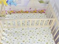 童同乐购买的双胞胎环保实木无油漆可变书桌婴儿床