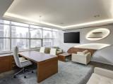 西安现代简约办公室装修效果图