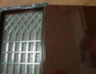 防盗门改加装安装通风窗透气窗,隐形纱窗白钢护栏