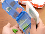 厂家直销塑料药盒 随身便携小药盒一周迷你