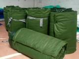 福永批发销售防水雨布 红白蓝彩条布 汽车货车篷布 有机硅帆布