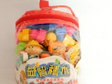 厂家直销 拼插积木玩具 益智趣味玩具 宝宝游戏玩具 特价 68片