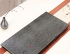 信州高档乌金石茶盘黑金石厂家直销特价大号石头天然茶台茶具石材