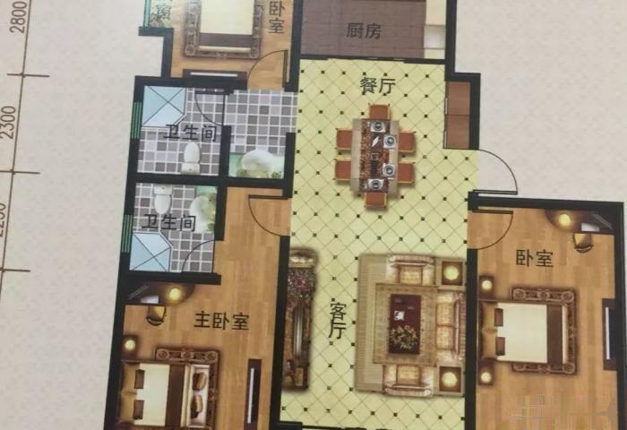 锦程花园多层电梯洋房小高层 紧邻金水湾B区南旁 名额转2