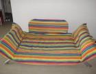 德家出售二手布式家庭用沙发自用二年八成新